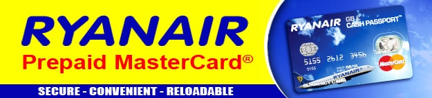 Carta Ryanair CashPassport, mastercard prepaid