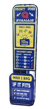 Misuratore bagaglio Ryanair